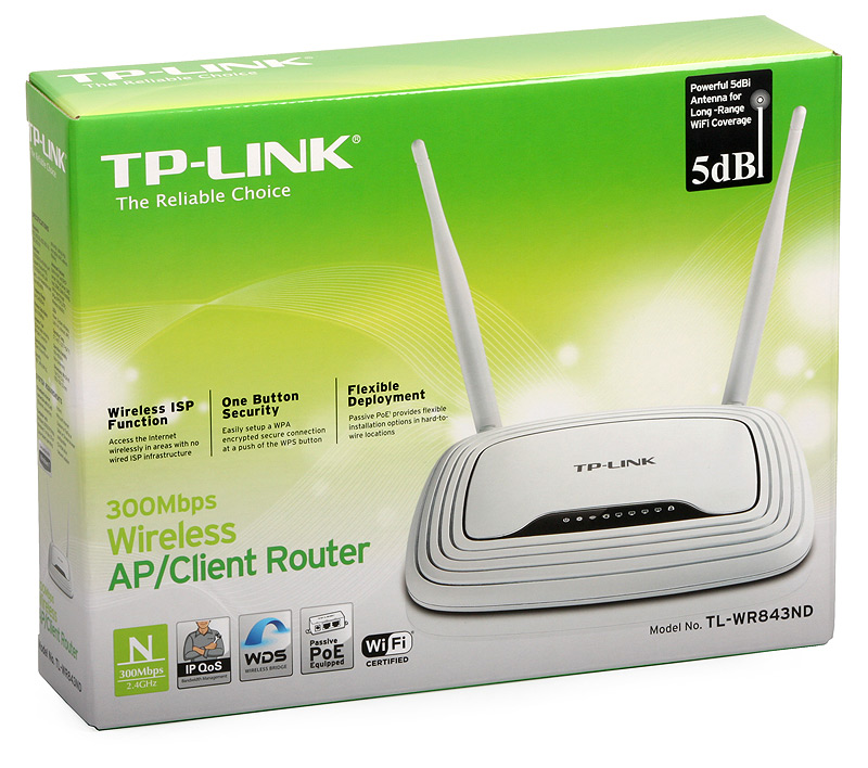 Tp Link Tl Wr843nd 300mbps Wireless Ap Client Router Built