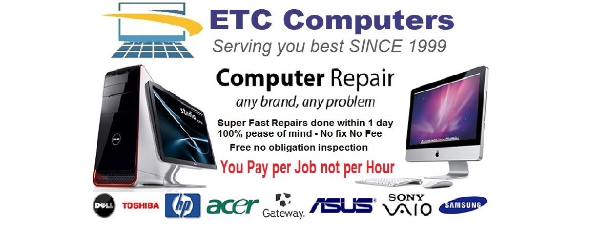 etc computersserve you best since 1999